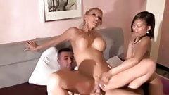 Dreier mit Kada Love und Asia bitch