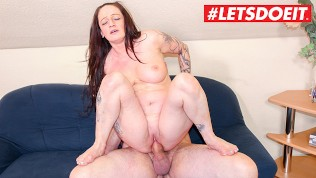LETSDOEIT – Horny Milf Gets Kinky With her Young Neighbors Cock